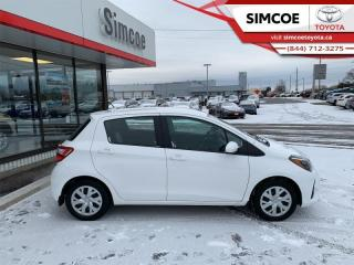Used 2019 Toyota Yaris LE Hatchback  - Low Mileage for sale in Simcoe, ON