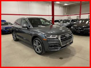 Used 2018 Audi Q5 TECHNIK S-LINE SPORT ADVANCED DRIVER ASSIST CLEAN CARFAX! for sale in Vaughan, ON