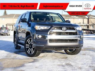 Used 2018 Toyota 4Runner LIMITED PACKAGE 7-PASSENGER for sale in High River, AB