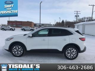 New 2021 Ford Escape Titanium Hybrid AWD  - Sunroof for sale in Kindersley, SK