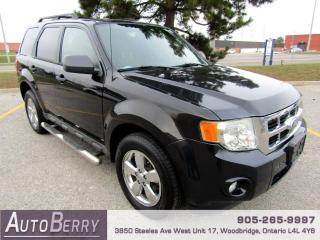 Used 2011 Ford Escape XLT FWD for sale in Woodbridge, ON