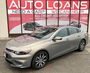 Used 2017 Chevrolet Malibu LT-ALL CREDIT ACCEPTED for sale in Toronto, ON
