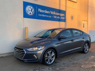 Used 2017 Hyundai Elantra GLS AUTO - SUNROOF / ALLOYS / HEATED SEATS for sale in Edmonton, AB
