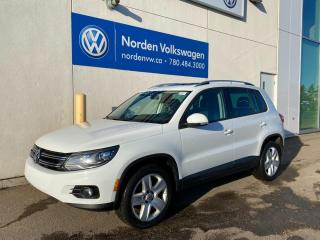 Used 2014 Volkswagen Tiguan COMFORTLINE 4MOTION AWD - LEATHER / SUNROOF for sale in Edmonton, AB