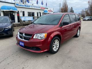 Used 2016 Dodge Grand Caravan SXT-DVD-REAR VIEW CAMERA-ACCIDENT FREE for sale in Stoney Creek, ON
