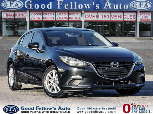 2014 Mazda MAZDA3 GS SKYACTIV, BACKUP CAMERA, HEATED SEATS, BLUETOTH