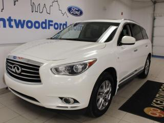 Used 2014 Infiniti QX60 AWD | Luxurious Heated Leather | AWD | One Owner LOW KM Clean Carproof for sale in Edmonton, AB