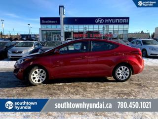 Used 2016 Hyundai Elantra GL/AUTO/HEATED SEATS/BACKUP CAM for sale in Edmonton, AB