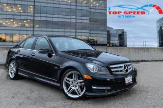 Used 2012 Mercedes-Benz C-Class C350 / AMG / 4 MATIC / NAVIGATION / PANO SUNROOF / for sale in Richmond Hill, ON