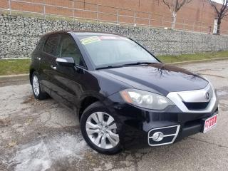 Used 2011 Acura RDX TECH PKG,NAVIGATION,REAR CAM,LEATHER,SUNROOF,CERTF for sale in Mississauga, ON