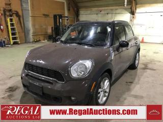 Used 2011 MINI Cooper S Countryman ALL4 4D Utility AWD for sale in Calgary, AB