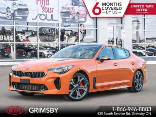 New 2021 Kia Stinger GT|TWIN TURBO|AWD|LEATHER|SUNROOF|365HP|UVO|LOADED for sale in Grimsby, ON