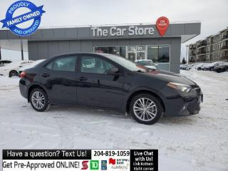Used 2015 Toyota Corolla LE Sunroof Htd Seats Push Start Camera LEAN TITLE for sale in Winnipeg, MB