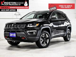 Used 2018 Jeep Compass Trailhawk   4X4   ONE Owner   Fully Loaded for sale in Kingston, ON