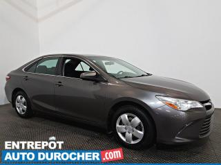 Used 2016 Toyota Camry LE AUTOMATIQUE - AIR CLIMATISÉ for sale in Laval, QC