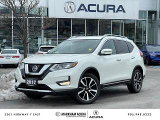 Used 2017 Nissan Rogue SL Platinum AWD for sale in Markham, ON