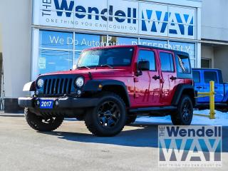 Used 2017 Jeep Wrangler Unlimited Willys Wheeler for sale in Kitchener, ON