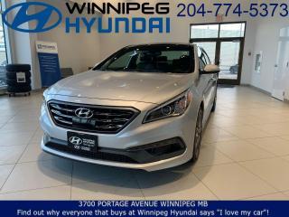 Used 2017 Hyundai Sonata 2.0T Sport Ultimate for sale in Winnipeg, MB
