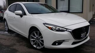 Used 2017 Mazda MAZDA3 SPORT GT -LEATHER! NAV! BACK-UP CAM! SUNROOF! BSM! for sale in Kitchener, ON