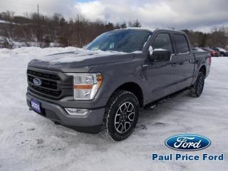 New 2021 Ford F-150 Sport SuperCrew 4X4 for sale in Bancroft, ON