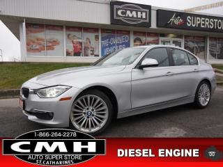 Used 2015 BMW 3 Series 328d xDrive  NAV HUD CAM ROOF LEATH HTD-S/W for sale in St. Catharines, ON