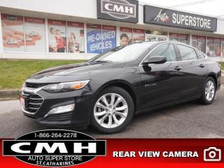 Used 2019 Chevrolet Malibu LT  CAM P/SEAT HTD-SEATS REM-START 17-AL for sale in St. Catharines, ON