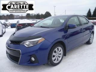 Used 2015 Toyota Corolla S for sale in East broughton, QC