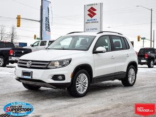 Used 2016 Volkswagen Tiguan Comfortline AWD ~Heated Seats ~Camera ~Bluetooth for sale in Barrie, ON