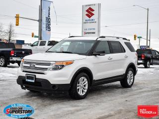 Used 2014 Ford Explorer XLT 4x4 ~7 Passenger ~Nav ~Camera ~Heated Leather for sale in Barrie, ON