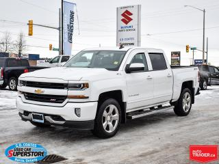 Used 2017 Chevrolet Silverado 1500 LT Z71 Crew Cab 4x4 ~Heated Seats ~Cam ~Bluetooth for sale in Barrie, ON