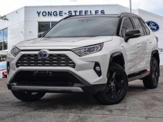Used 2019 Toyota RAV4 Hybrid XLE for sale in Thornhill, ON
