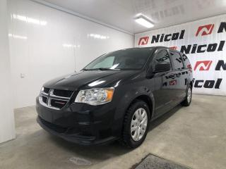 Used 2018 Dodge Grand Caravan CANADA VALUE PACKAGE Parfait pour la famille !! for sale in La Sarre, QC