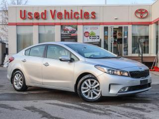 Used 2017 Kia Forte EX ALLOYS REV-CAMERA HEAT-SEATS SINGLE OWNER for sale in North York, ON