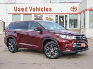 Used 2018 Toyota Highlander LE AWD HEAT-SEAT ALLOYS REV-CAM 1-OWNER LOW-KMS for sale in North York, ON