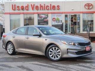 Used 2016 Kia Optima LX+ YES WE ARE OPEN ALLOYS REV-CAMERA HEAT-SEATS for sale in North York, ON