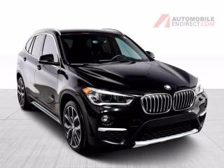 Used 2017 BMW X1 28i xDrive Cuir Sièges Chauffants Caméra for sale in Île-Perrot, QC
