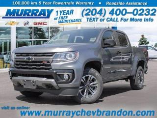 New 2021 Chevrolet Colorado 4WD Z71 for sale in Brandon, MB