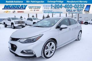 Used 2017 Chevrolet Cruze Heated Ft/R Seats*Heated Steering*Remote Start*Nav for sale in Brandon, MB