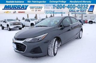 Used 2019 Chevrolet Cruze *Low KMS*Heated Seats*Remote Start*Sunroof*Backup for sale in Brandon, MB