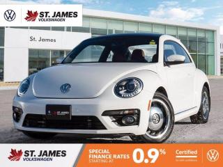 Used 2017 Volkswagen Beetle Coupe Classic, One Owner, Apple CarPlay, Heated Seats for sale in Winnipeg, MB