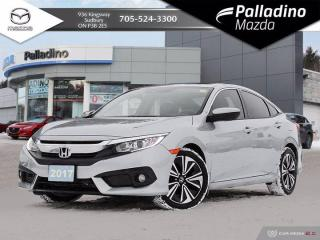 Used 2017 Honda Civic Sedan EX-T - ONE OWNER - LOW MILEAGE for sale in Sudbury, ON