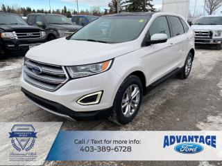 Used 2017 Ford Edge SEL CANADIAN TOURING PKG - PANORAMIC ROOF - NAVIGATION for sale in Calgary, AB