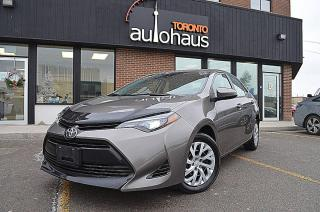 Used 2017 Toyota Corolla Lane Departure / HTD Seats / Camera for sale in Concord, ON