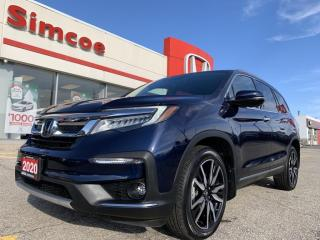 Used 2020 Honda Pilot TOURING 7P for sale in Simcoe, ON