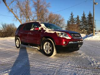 Used 2010 GMC Acadia SLE AWD! Remote Starter! for sale in Winnipeg, MB