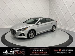 Used 2019 Hyundai Sonata ESSENTIAL SPORT| BLIND SPOT|SUNROOF| LEATHER| RCAMERA for sale in Vaughan, ON