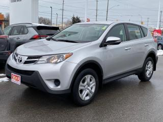 Used 2015 Toyota RAV4 LE AWD-ONE OWNER BOUGHT AND SERVICED HERE! for sale in Cobourg, ON