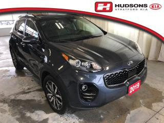 Used 2019 Kia Sportage EX Premium One Owner | +Snow Tires | Apple CarPlay / Android Auto for sale in Stratford, ON