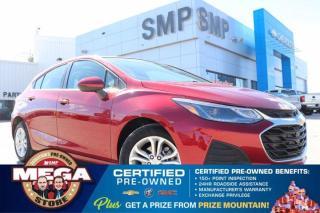Used 2019 Chevrolet Cruze LT- Heated Seats, Rem Start, Back Up Cam, Bluetooth for sale in Saskatoon, SK