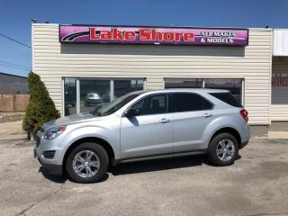 Used 2016 Chevrolet Equinox LS LOCAL TRADE for sale in Tilbury, ON